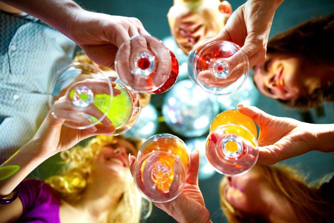 Sylwestrowe drinki z szampanem