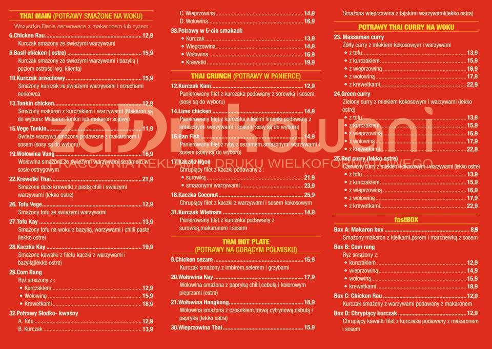 Thai Plus Restauracja Azjatycka Bełchatów Opinie Oceny