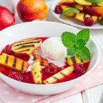 Coś słodkiego naruszt - owoce zgrilla