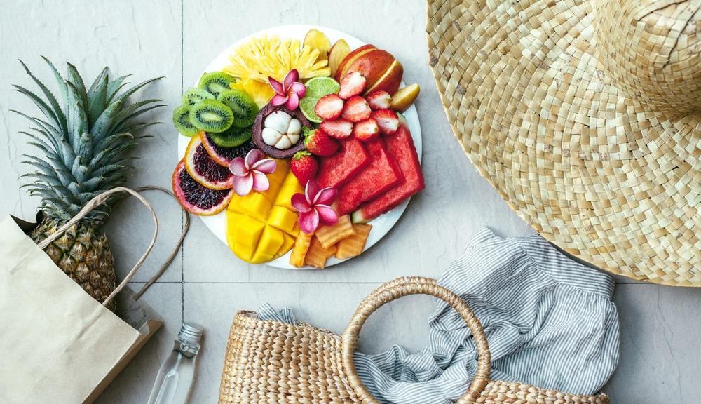 Letnia dieta na piękną opaleniznę