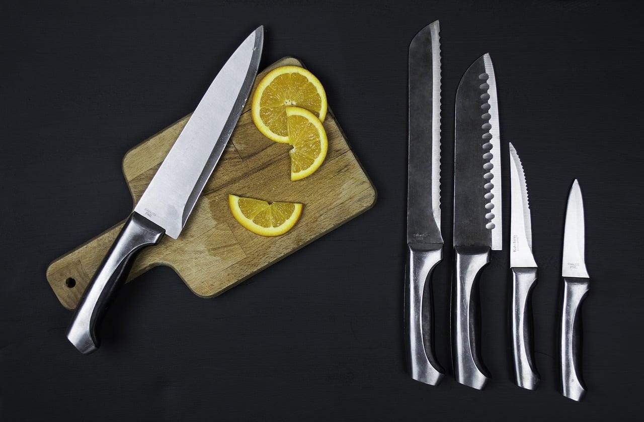 Noże kuchenne – rodzaje i ich zastosowanie