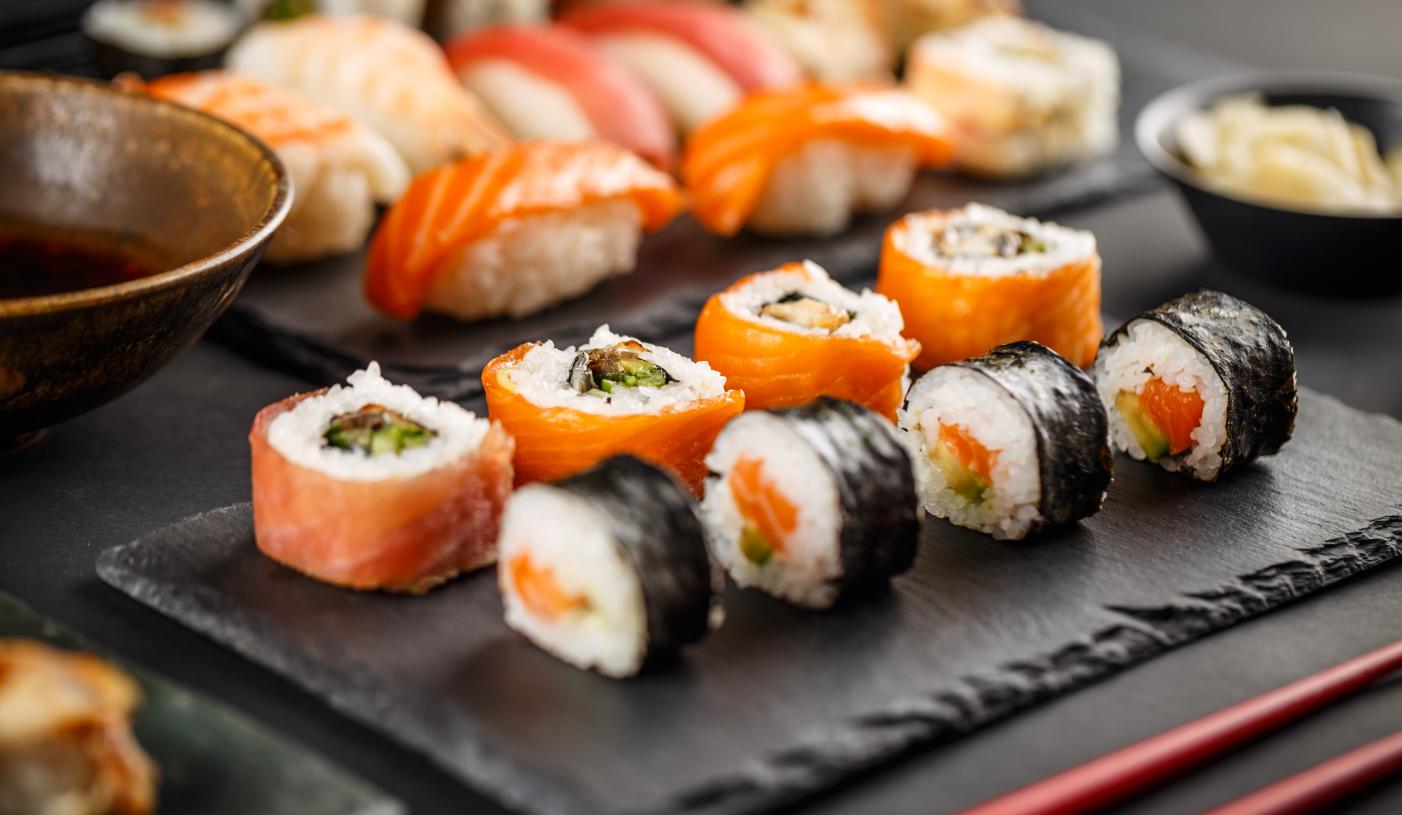 Dobroczynne działanie sushi dla zdrowia i zgrabnej figury