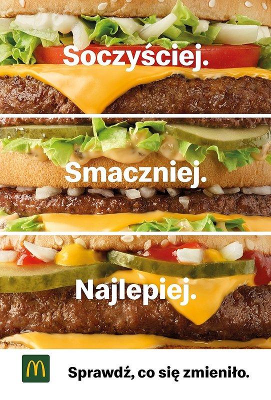 Sprawdź, co McDonald's zmienia w swoich klasykach, Big Mac w nowej odsłonie